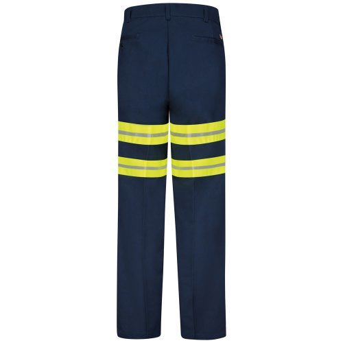 Enhanced Visibility Wrinkle-Resistant Cotton Work Pant