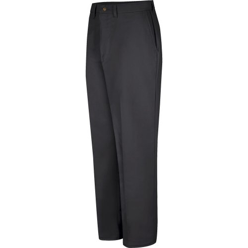 Plain Front Cotton Pants