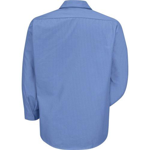 Industrial Stripe Broadcloth Long Sleeve Shirt