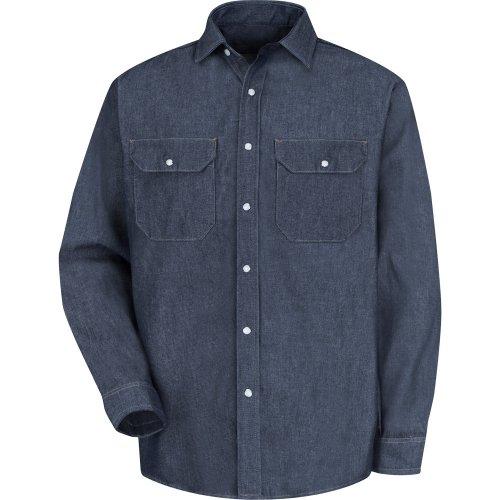 Red Kap Deluxe Denim Shirt