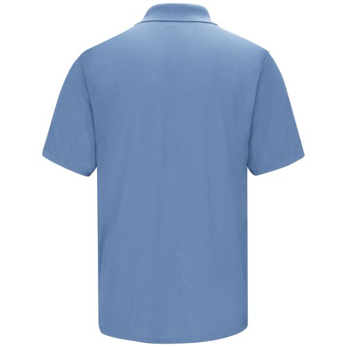 Men's Spun Polyester Polo with Gripper-Front