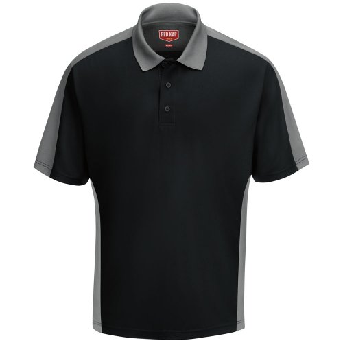 Red Kap Men's Performance Knit® Two-Tone Polo