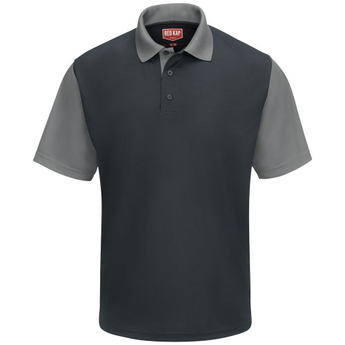 Red Kap Men's Performance Knit® Color-Block Polo