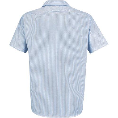Industrial Stripe Oxford Short Sleeve Shirt