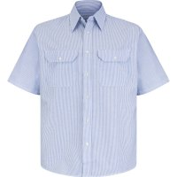Men's Deluxe Short Sleeve Uniform Shirt