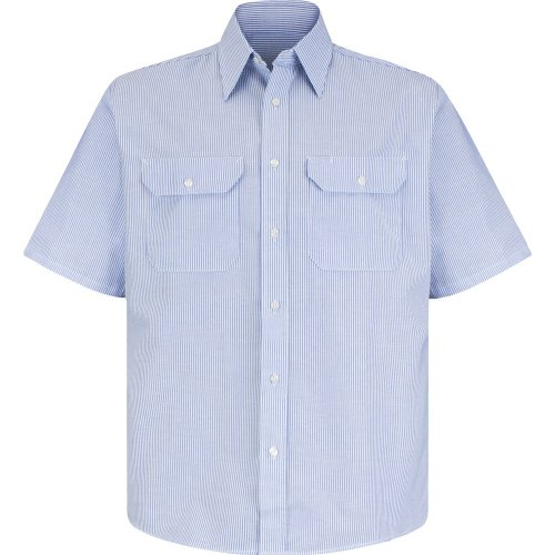 Men's Deluxe Short Sleeve Uniform Shirt