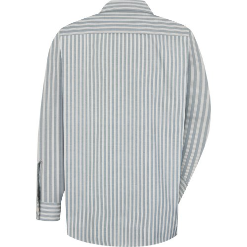 Industrial Stripe Poplin Long Sleeve Shirt