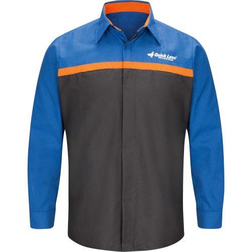 Ford Quick Lane® Long Sleeve Technician Shirt