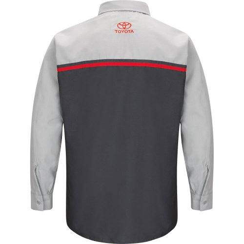 Toyota® Technician Long Sleeve Shirt | Red Kap Branded Image Program | National Uniforms