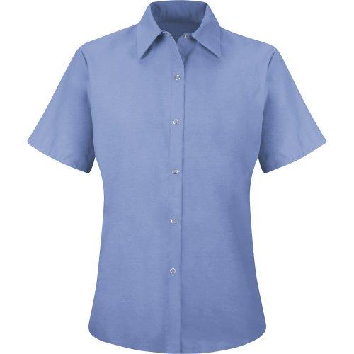 Women's Specialized Pocketless Short Sleeve Work Shirt