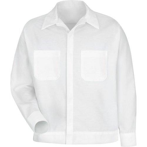 Men's Button-Front Shirt Jacket