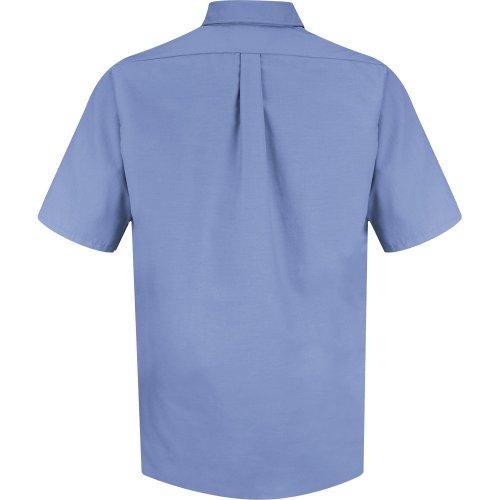 Men's Poplin Short Sleeve Dress Shirt