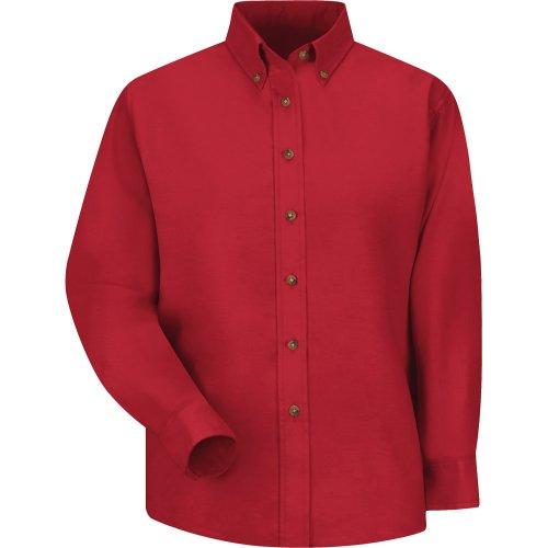 Women's Poplin Long Sleeve Dress Shirt