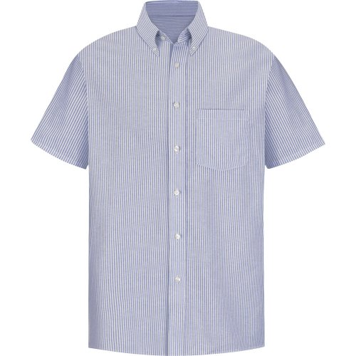 Men's Executive Oxford Short Sleeve Dress Shirt