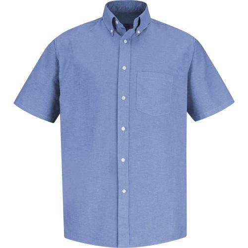 Red Kap Men's Executive Oxford Short Sleeve Dress Shirt