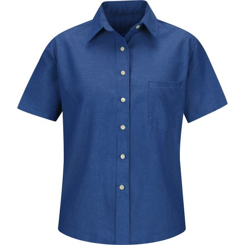 Women's Oxford Short Sleeve Dress Shirt