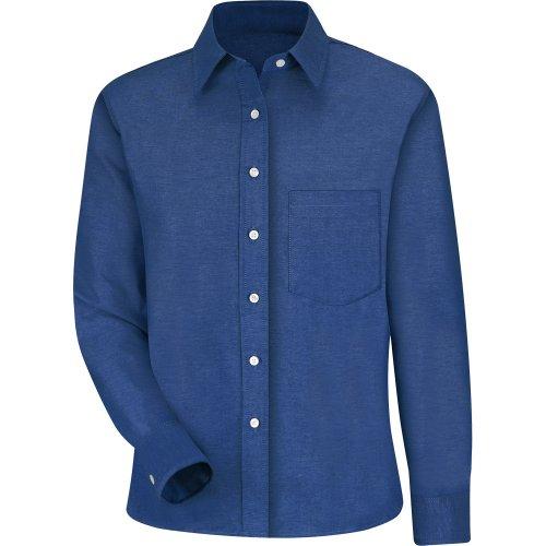 Women's Oxford Long Sleeve Dress Shirt