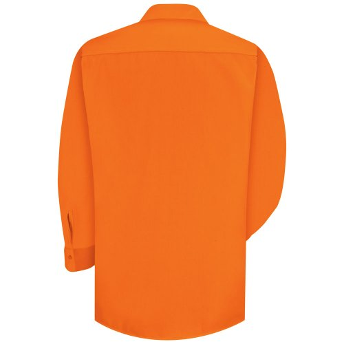 Enhanced Visibility 100% Polyester Long Sleeve Work Shirt