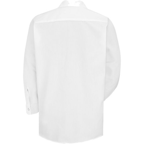 Men's Specialized Polyester Pocketless Long Sleeve Work Shirt