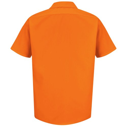 Enhanced Visibility 100% Polyester Short Sleeve Work Shirt