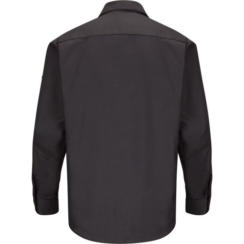 Solid Long Sleeve Crew Shirt