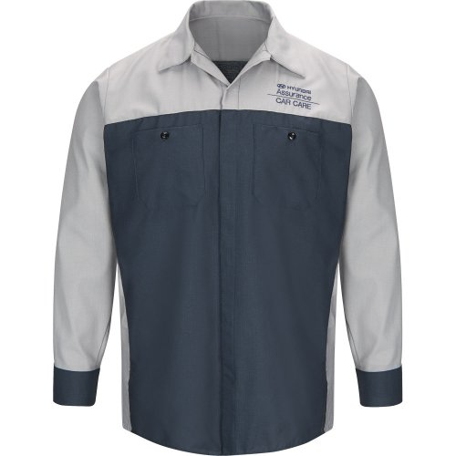 Hyundai® Assurance Car Care Long Sleeve Technician Shirt