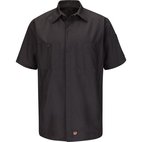 Solid Short Sleeve Crew Shirt