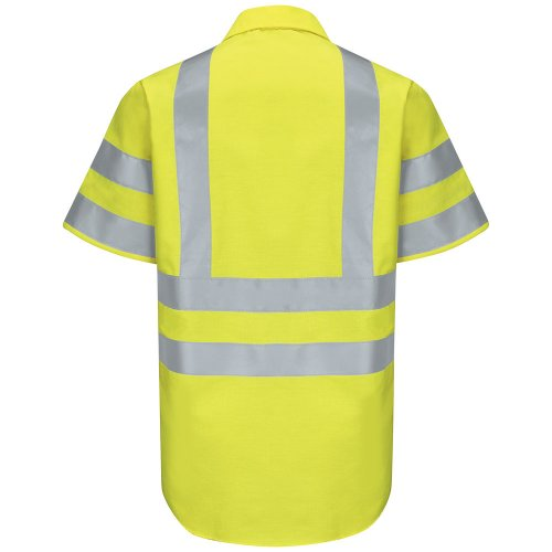 Hi-Visibility Ripstop Short Sleeve Work Shirt Type R, Class 3