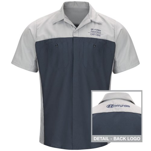 Hyundai® Assurance Car Care Short Sleeve Technician Shirt