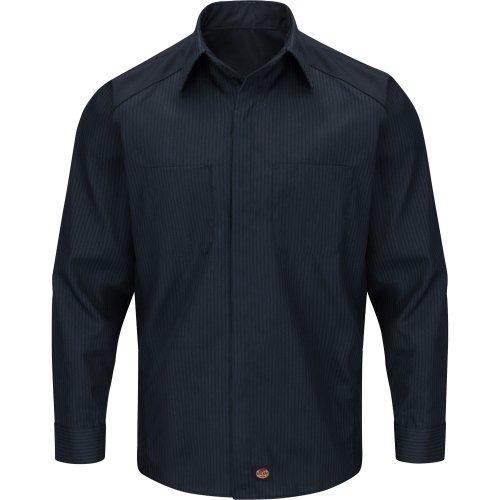 Striped Long Sleeve Color Block Shirt
