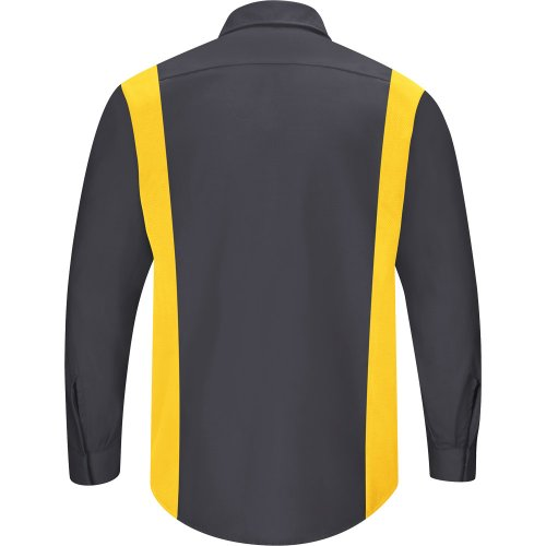 Men's Performance Plus Long Sleeve Shop Shirt With Oilblok Technology