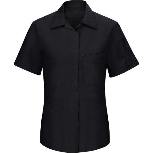Women's Performance Plus Short Sleeve Shop Shirt With Oilblok Technology