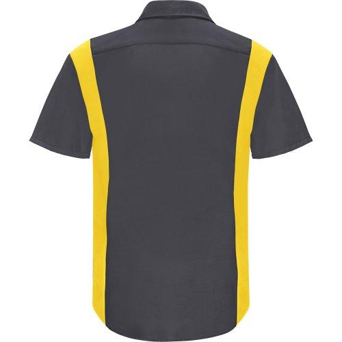 Men's Performance Plus Short Sleeve Shop Shirt With Oilblok Technology