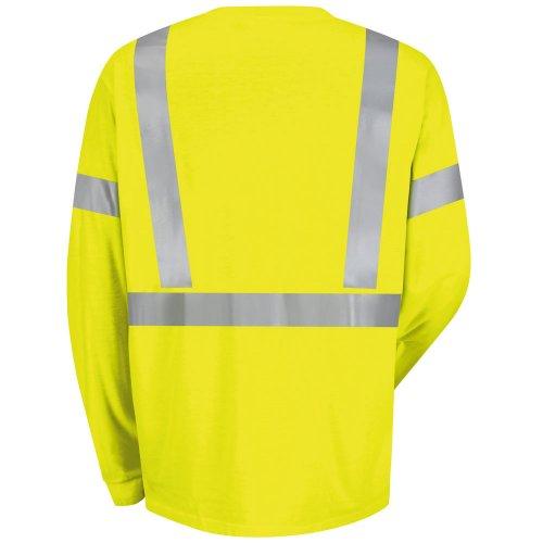 Hi-Visibility Long Sleeve T-Shirt Type R, Class 2