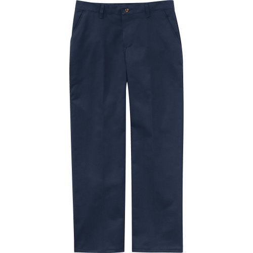 Women's Plain Front Cotton Pants