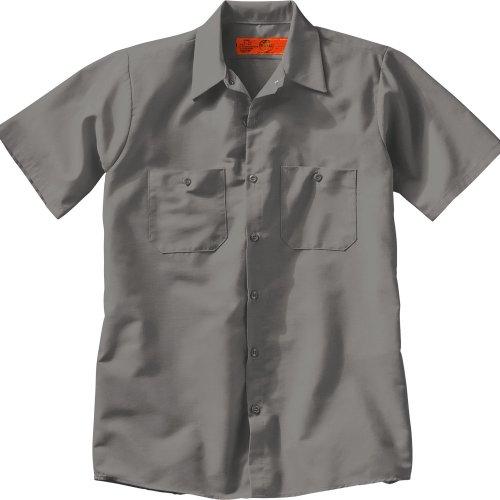 Red Kap Men's Industrial Short Sleeve Work Shirt