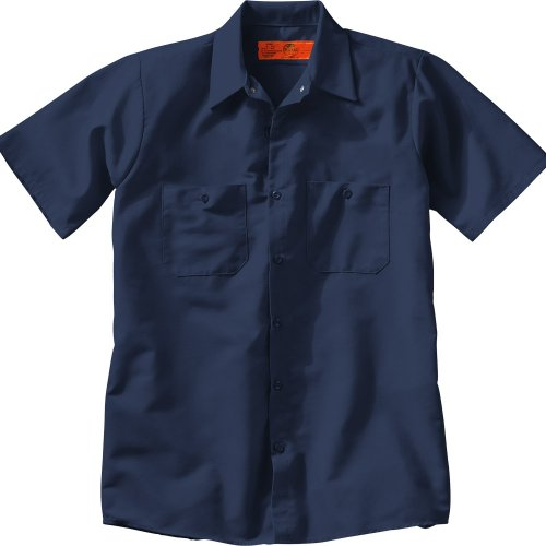 Men's Industrial Short Sleeve Work Shirt