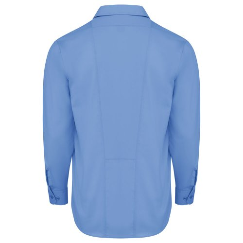 Men's Industrial WorkTech Ventilated Long-Sleeve Work Shirt w/Cooling Mesh