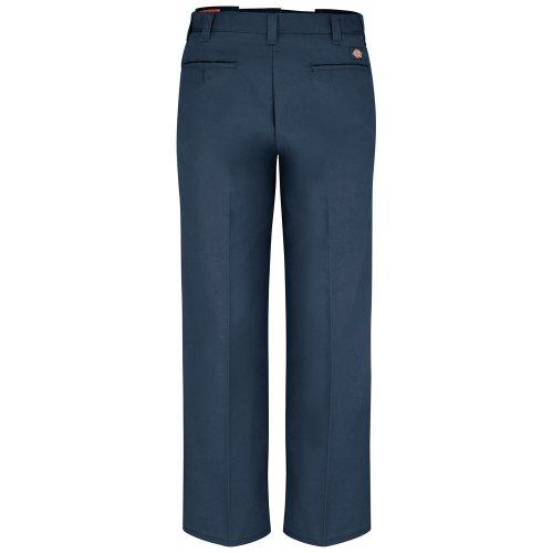 Men's Industrial Flat Front Comfort Waist Pant