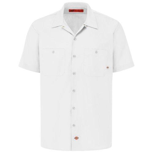 Men's Industrial Short-Sleeve Work Shirt