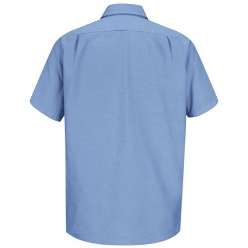 Men's Canvas Short Sleeve Work Shirt